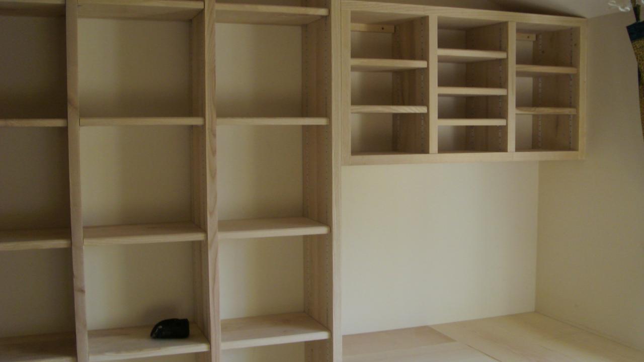 Biblioth que massif - Realiser une etagere ...